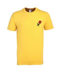 rose yellow tshirt