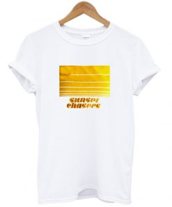 sunset chasers t-shirt