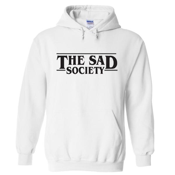 the sad society hoodie
