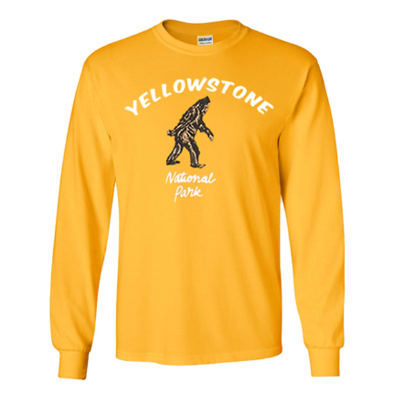 yellowstone national park sweatshirt