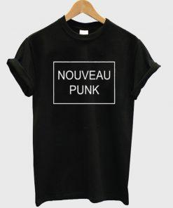 nouveau punk t-shirt