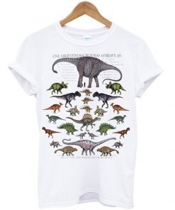 one argentinosaurus was as heavy t-shirt