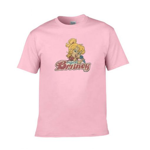 original britney light pink tshirt