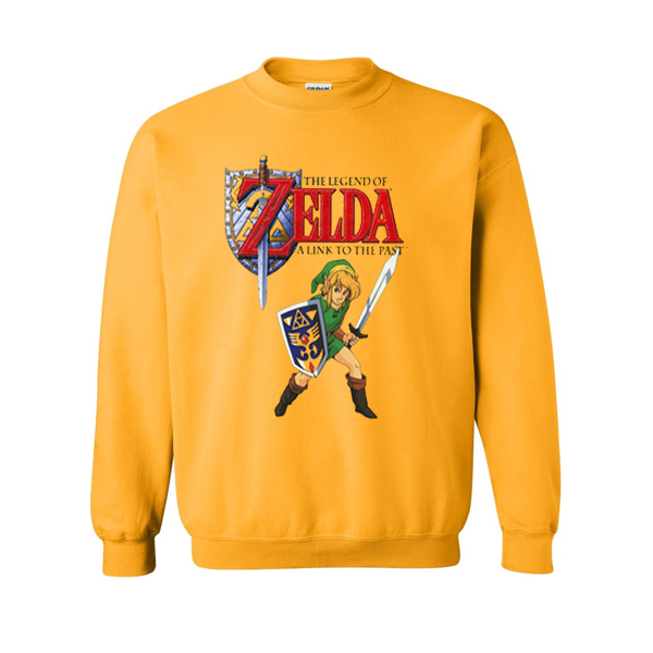 the legend of zelda a link to the past sweatshirt
