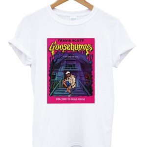 travis scott goosebumps t-shirt