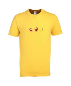 Strawberry Apple Banana Emoji T Shirt