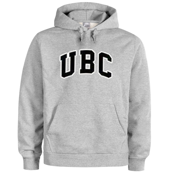 UBC font hoodie