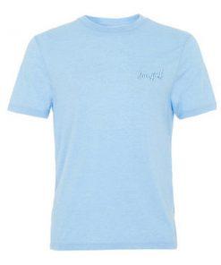 new york blue tshirt