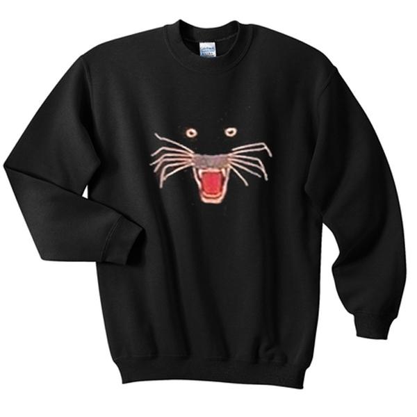 the roar face sweatshirt