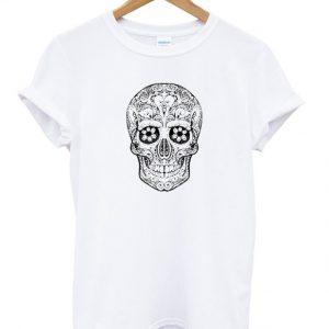 Skull Ethnic T Shirt