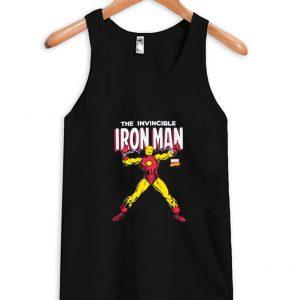 The Invincible Iron Man Tank Top