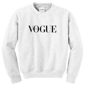 vogue italia logo sweatshirt