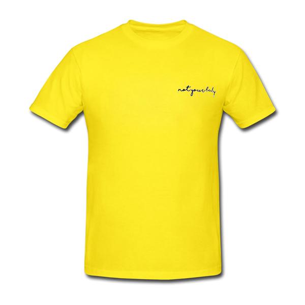 963e6752 not-your-baby-yellow-tshirt.jpg