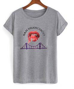 san francisco bridge t-shirt