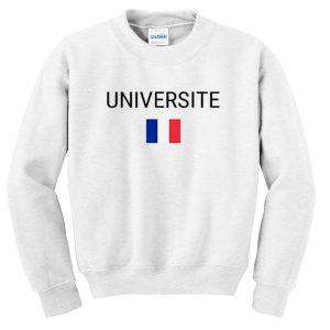 universite sweatshirt