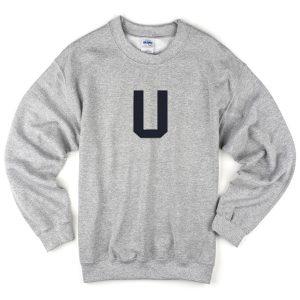 U font sweatshirt
