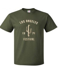 Los Angeles Festival 1971 T Shirt