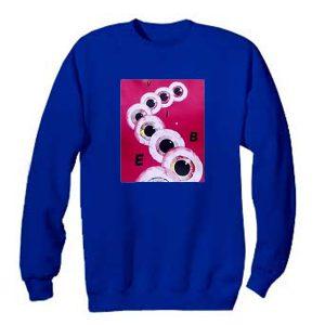 Vibe Eyeball Sweatshirt