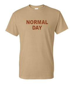 normal day tshirt