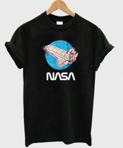rocket nasa t-shirt