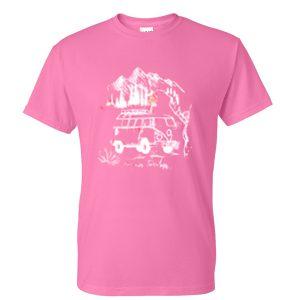 vw pink tshirt