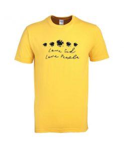 love god love people tshirt