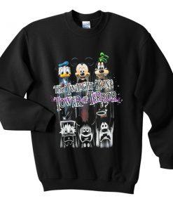 the twilight zone tower of terror sweatshirt