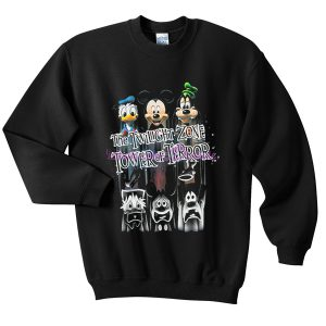 the twilight zone tower of terror sweatshirt