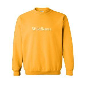 wildflower yellow sweatshirt