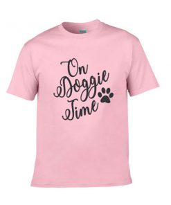 on doggie time tshirt