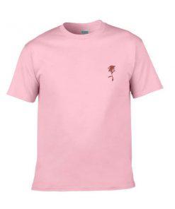 rose pink tshirt