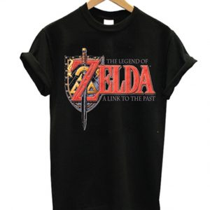 the legend of zelda a link to the past t-shirt