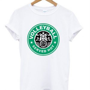 volleyball served hot t-shirt