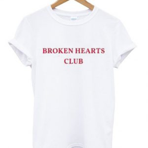 broken hearts club t-shirt