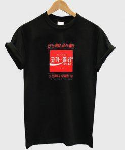 seoul cola logo t-shirt