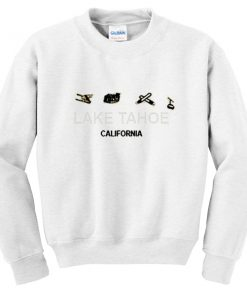 lake tahoe california sweatshirt