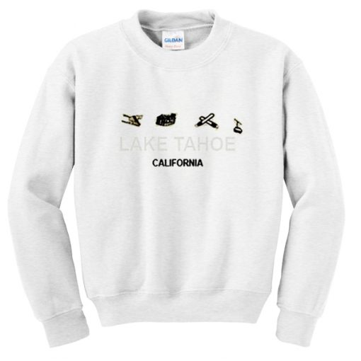 lake tahoe california sweatshirt