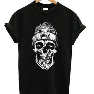 skull obey t-shirt