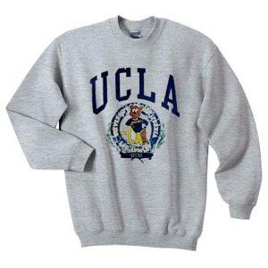 UCLA bruins bear sweatshirt