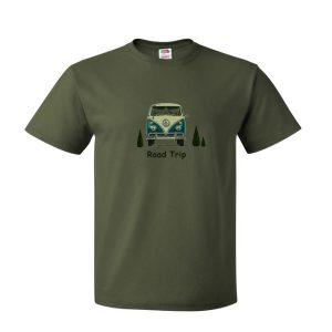 VW combi road trip tshirt