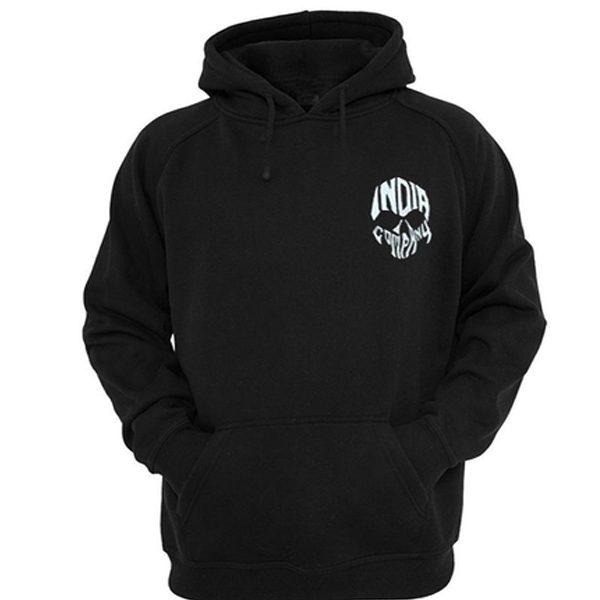 india company skull hoodie
