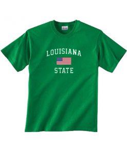 louisiana USA state tshirt