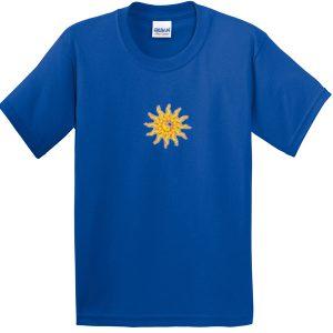 yin yang sun tshirt