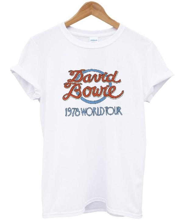 Official David Bowie World Tour 1978 T-Shirt