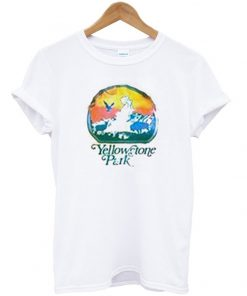 yellow stone park t-shirt