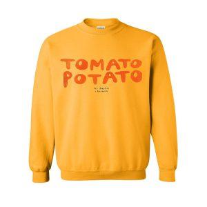 tomato potato sweatshirt