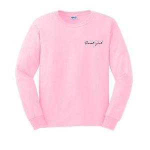 cool girl sweatshirt