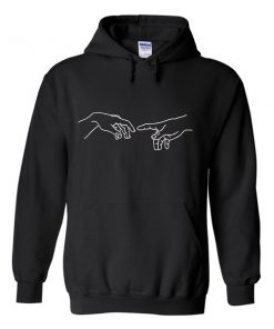 touch hand hoodie