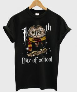 owl 100th day of school t-shirt