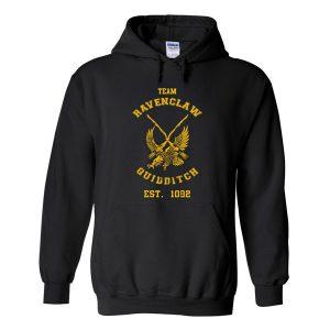 the ravenclaw quidditch est 1092 hoodie